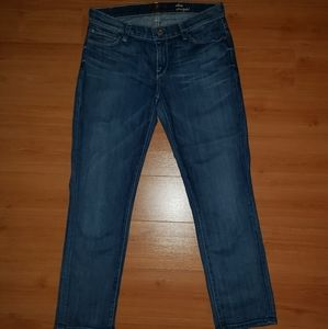 NWOT 7 for all mankind Slim straight crop jeans 29